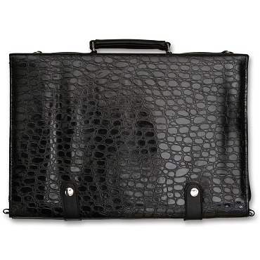 Black 40 Shears Carry Case w/ Croc Pattern - BKCrocCase