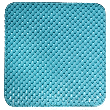 Turquoise 2 Shears Case w/ Snake Scale Pattern-C2PATTURQ