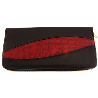 Black & Red 4 Shears Case-C4ZDBK