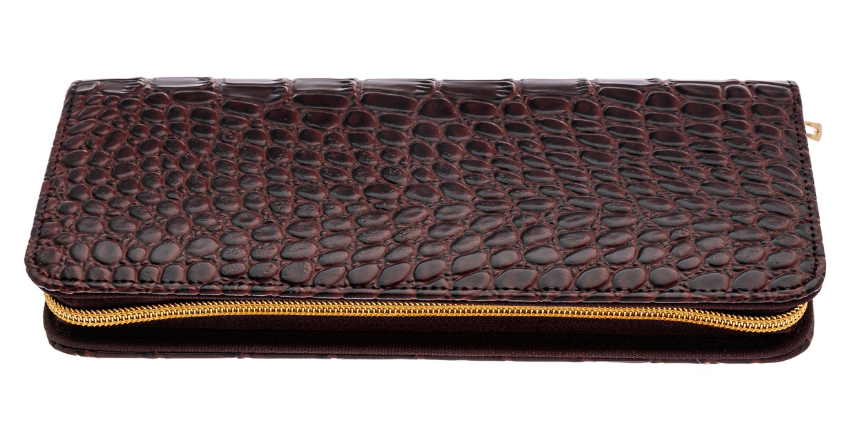 C4- CROC. BROWN SHEARS CASE - #C4