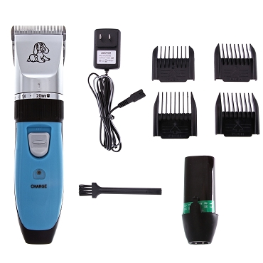 RCFD  Blue 5 in 1 Cordless Clipper w/ Combs - RCFD-PETBLUE