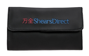 Black ShearsDirect Logo  6 Shears Case - C6SDVLC
