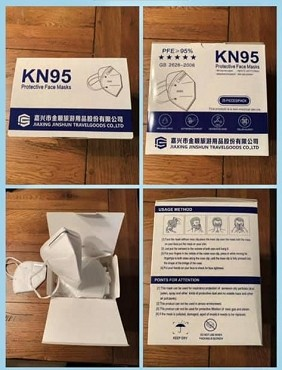KN 95 MASK / 25 Pack  - KN95-2
